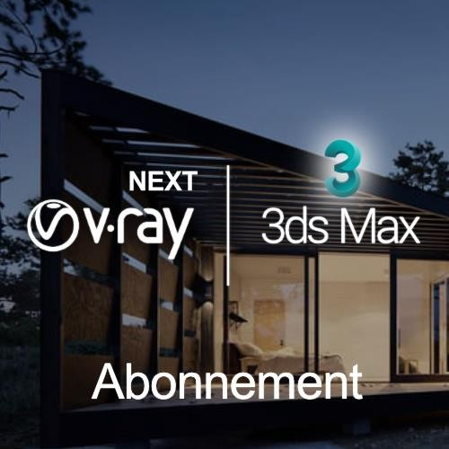 V-Ray Next for 3ds Max, looptijd 1 maand
