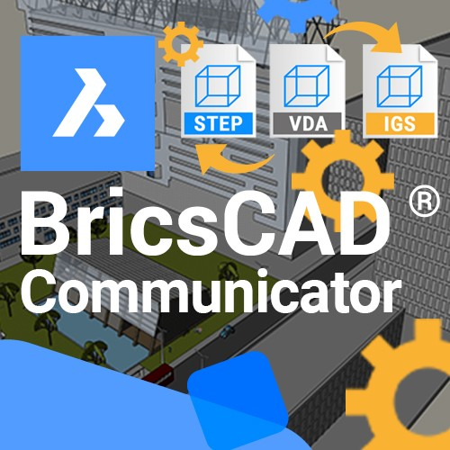 BricsCAD Communicator V20 upgrade vanaf V19, incl. 1 jaar maintenance