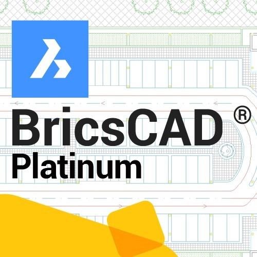 BricsCAD Platinum V20 upgrade vanaf V18, incl. 1 jaar maintenance