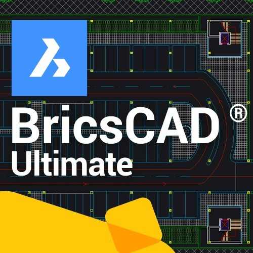BricsCAD Ultimate V20 , 3 jaar